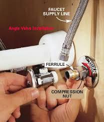 sink supply valve