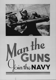 man the guns join the navy