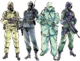 metal gear solid enemies