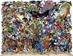 dc and marvel superheroes