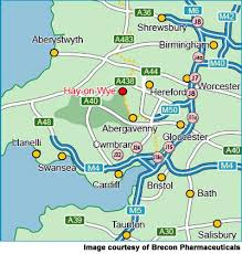 hay on wye map