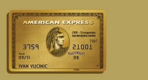 credit cards gold