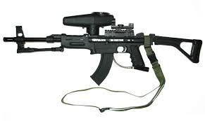 98 custom paintball gun