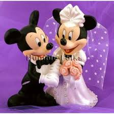 disney wedding topper