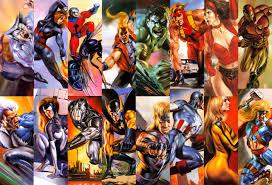 comic books heroes