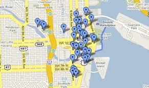 google map miami