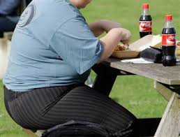 over weight person