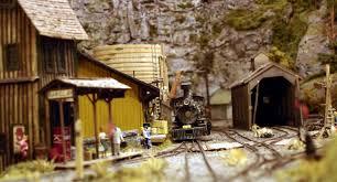 narrow gauge model railroad