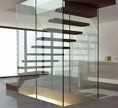 glass staircase design