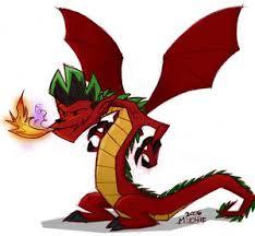 caricaturas de dragones