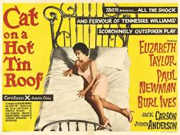 cat on a hot tin roof posters