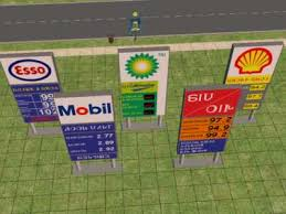 mobil signs