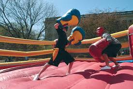 inflatable boxing rings