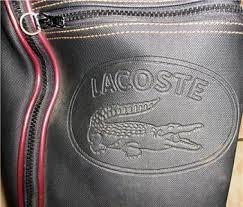 lacoste golf bag