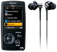 sony video mp3 players