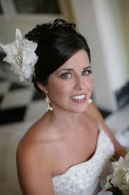 bride flower hair
