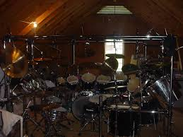 huge drum kits