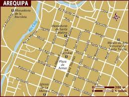 arequipa map