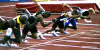 100m sprint start