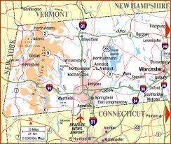 map of western ma