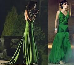 emerald green gowns