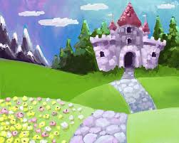 cartoon pictures of castles