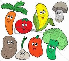 cartoon vegetable pictures