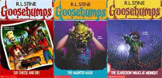 all goosebump books