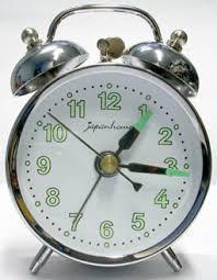 mechanical alarm clocks