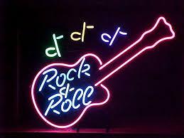 guitar neon lights