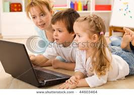 kids learning computers