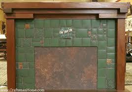 arts crafts tile