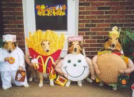 fast food costumes