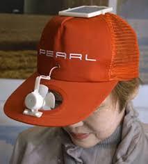 solar panel hat