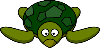 cute animated turtles