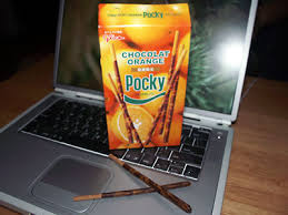 chocolate orange sticks