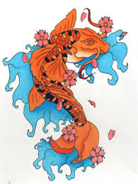 japanese koi fish art