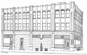 drawing building