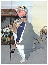 fishing costume
