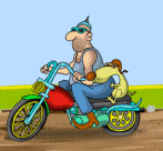 animated motorcycle