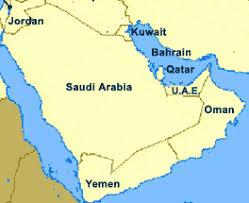 arabian gulf map