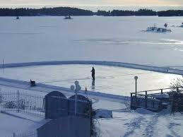 pond hockey rinks