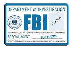fbi id badges