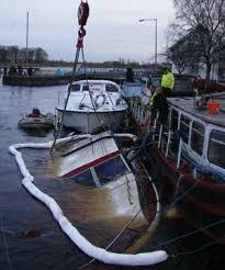 sink boat
