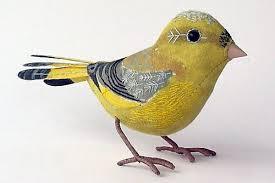 sculptures birds