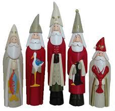 carved santas