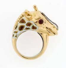 giraffe rings