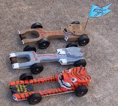 boy scouts pinewood derby car