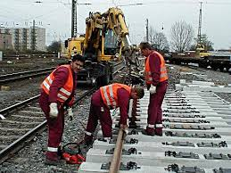 rail track construction