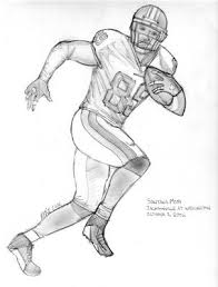 drawings of footballs